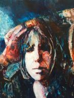 """Oil Painting on Yupo""""22X26"""" $650"""