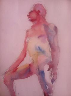 """""""Take 5"""" Watercolor 11x14 $125"""